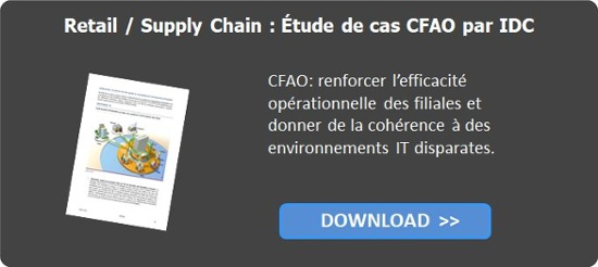 IDC Étude de cas CFAO Retail / Supply Chain